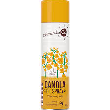 CANOLA OIL SPRAY, COMMUNITY CO, 400G