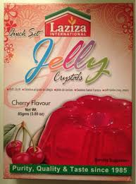 Cherry Jelly Crystals Laziza 85g