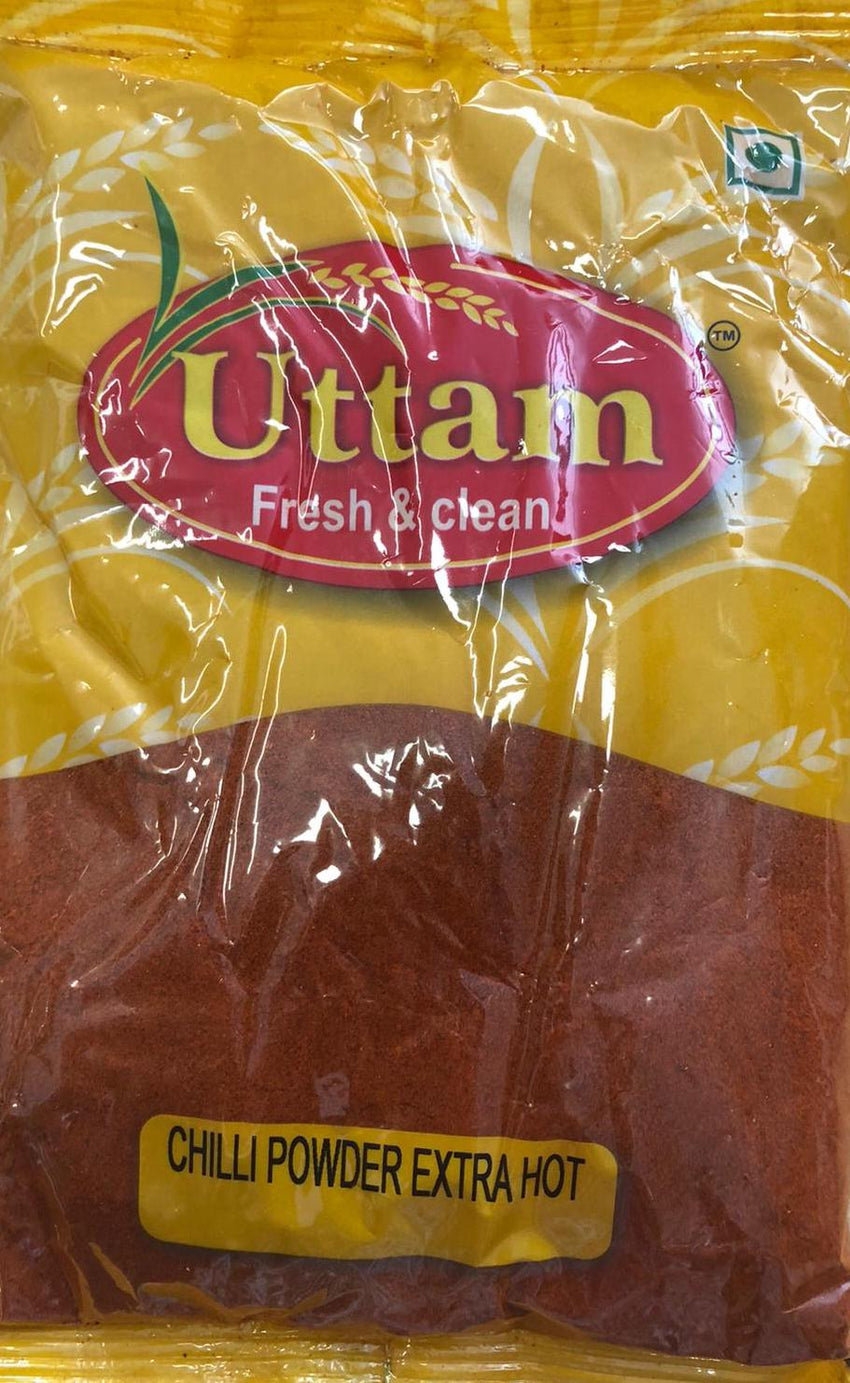 Chilli Powder Extra Hot, Uttam, 200g