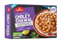 CHOLEY CHAWAL (RICE), HALDIRAM, 280G