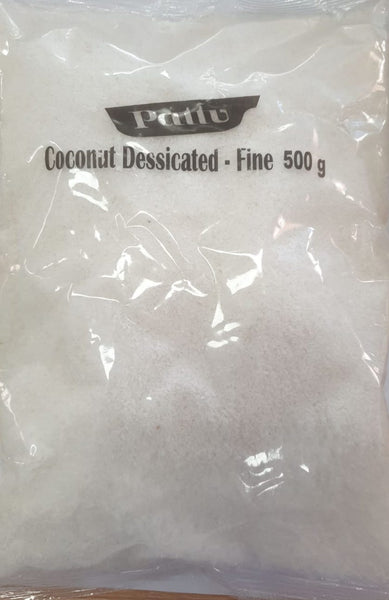 COCONUT DESSICATED FINE, PATTU 500G