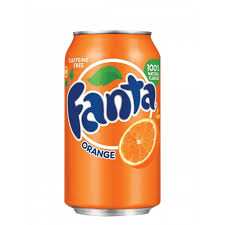 FANTA ORANGE CAN 375ml