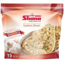 GARLIC NAAN SHANA 15 PCS
