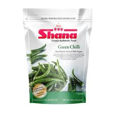 GREEN CHILLI, SHANA, 300G