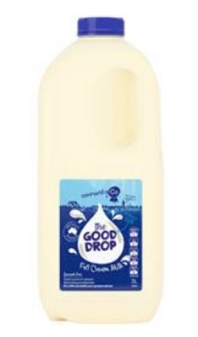 GOOD DROP FULL CREAM MILK 2L