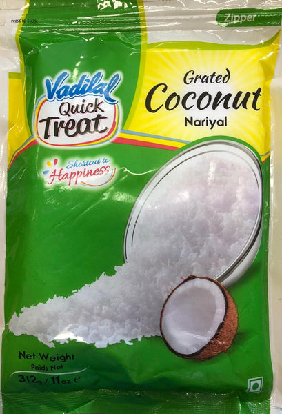 GRATED COCONUT VADILAL 312G