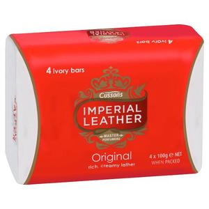 IMPERIAL LEATHER SOAP 4X 100G