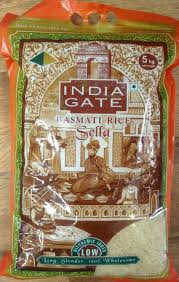 INDIA GATE GOLDEN SELLA RICE, 5KG