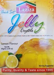 Lemon Jelly Crystals, Laziza 85g