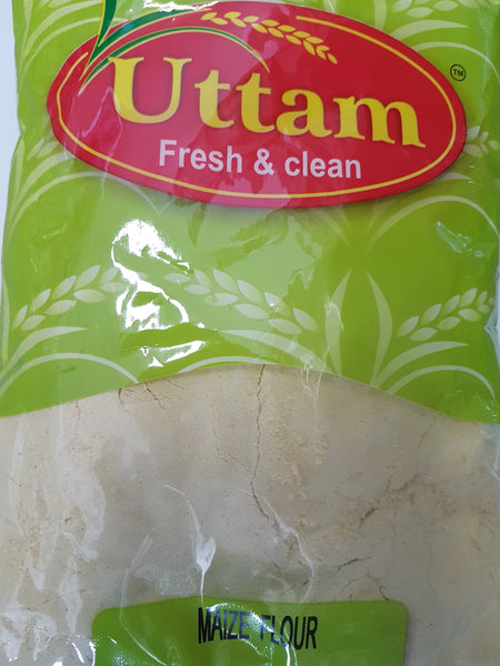 MAIZE FLOUR YELLOW, UTTAM 900g