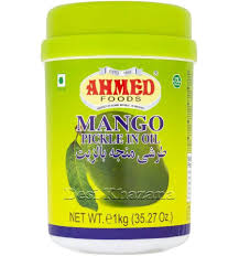 MANGO PICKLE IN OIL AHMED 1KG
