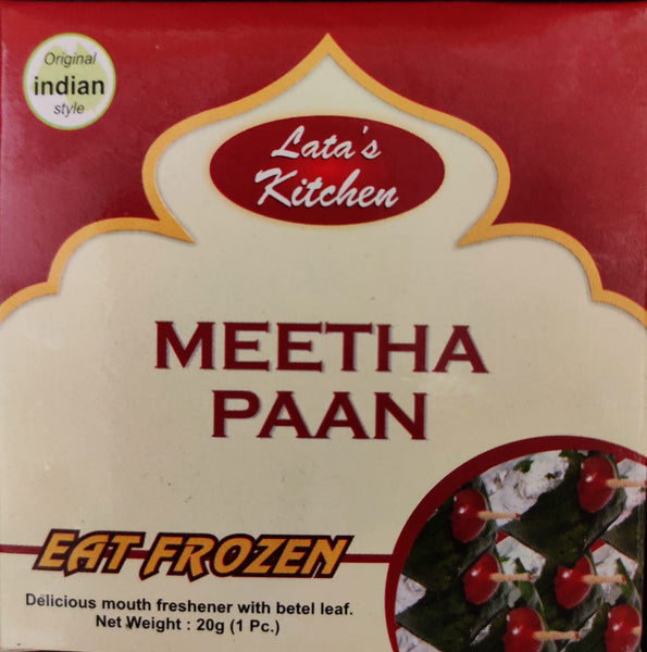 MEETHA PAAN (FROZEN), LATA KITCHEN, 20G