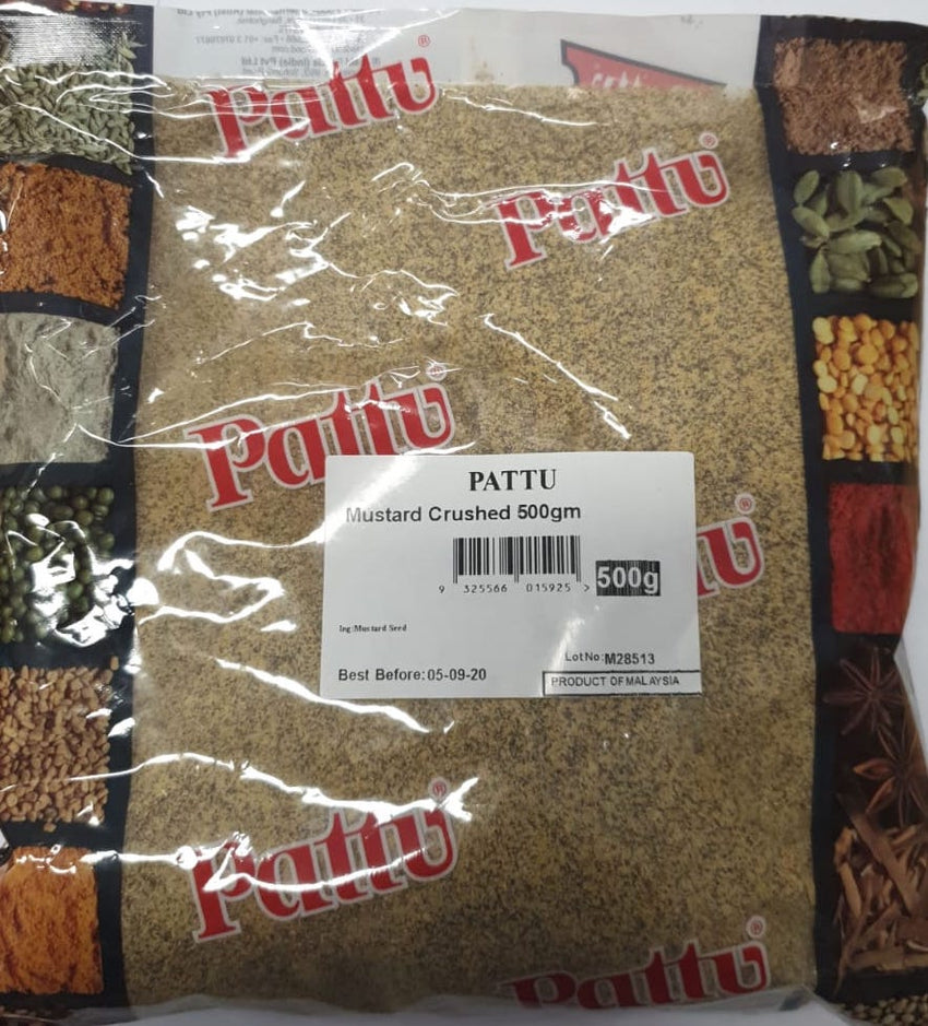 Mustard Crushed, Pattu, 500g