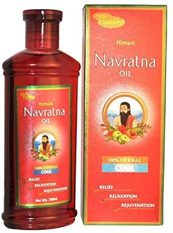 NAVRATNA OIL 200 ML HIMANI