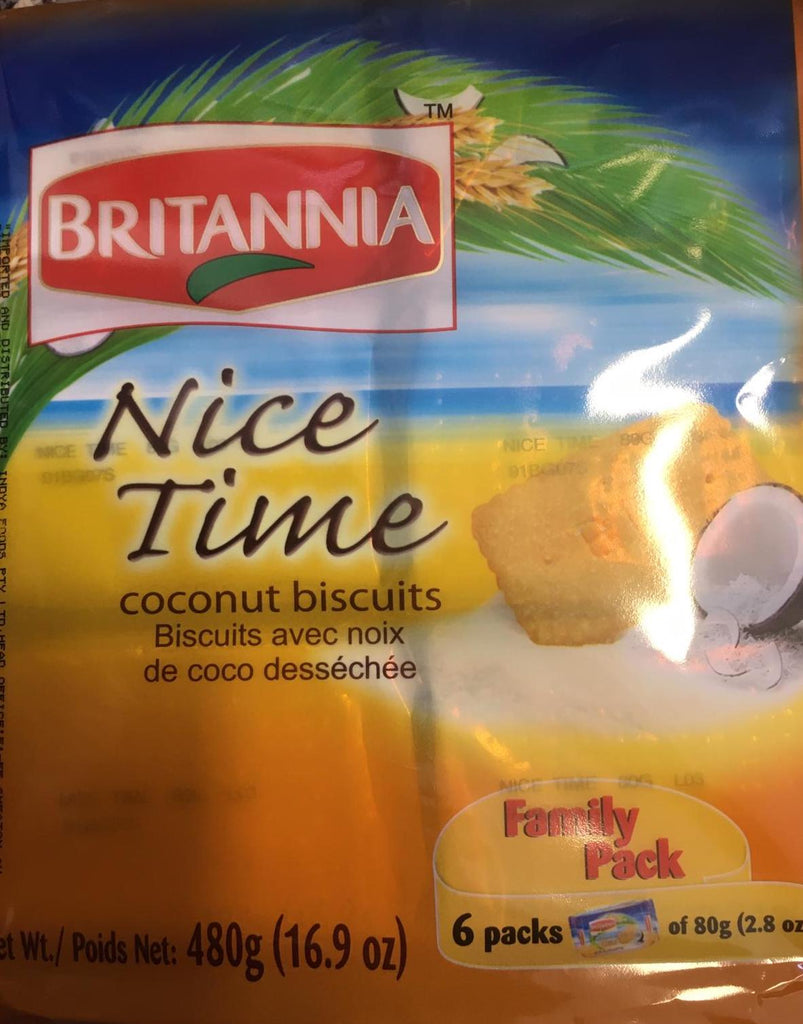Britannia Nice Time Biscuits Family Pack 480g