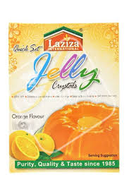 Orange Jelly Crystals, Laziza 85g