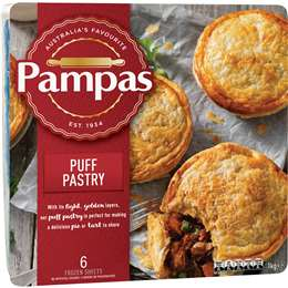 Puff pastry, Pampas, 1kg