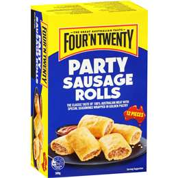 Party sausage rolls, Four N Twenty  500g (12 Pc)