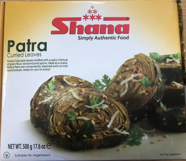 PATRA CURRIED LEAVES SHANA 500G