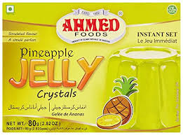 PINEAPPLE JELLY CRYSTALS, AHMED 80G