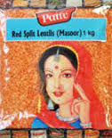 RED SPLIT LENTILS PATTU 1KG