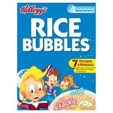 KELLOGGS RICE BUBBLES 410G