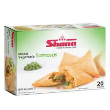MIX. VEG SAMOSA SHANA, 20 pcs