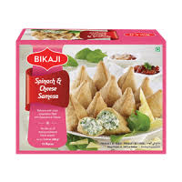 SPINACH & CHEESE SAMOSA BIKA JI 360G