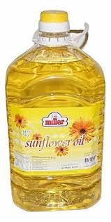 SUNFLOWER OIL 5L MILLER