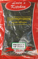 TUTTY FRUITY GREEN 200G LATAS KITCHEN