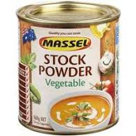 Stock powder vegetable,Massel,168g