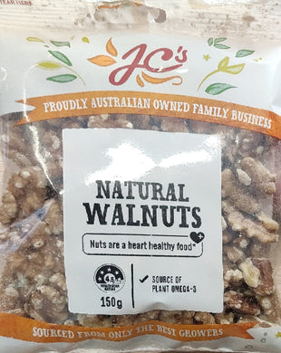 NATURAL WALNUTS, JC, 150G