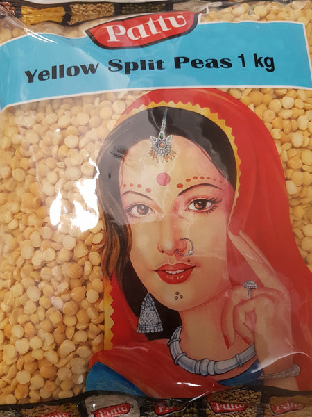 YELLOW SPLIT PEAS PATTU 1KG