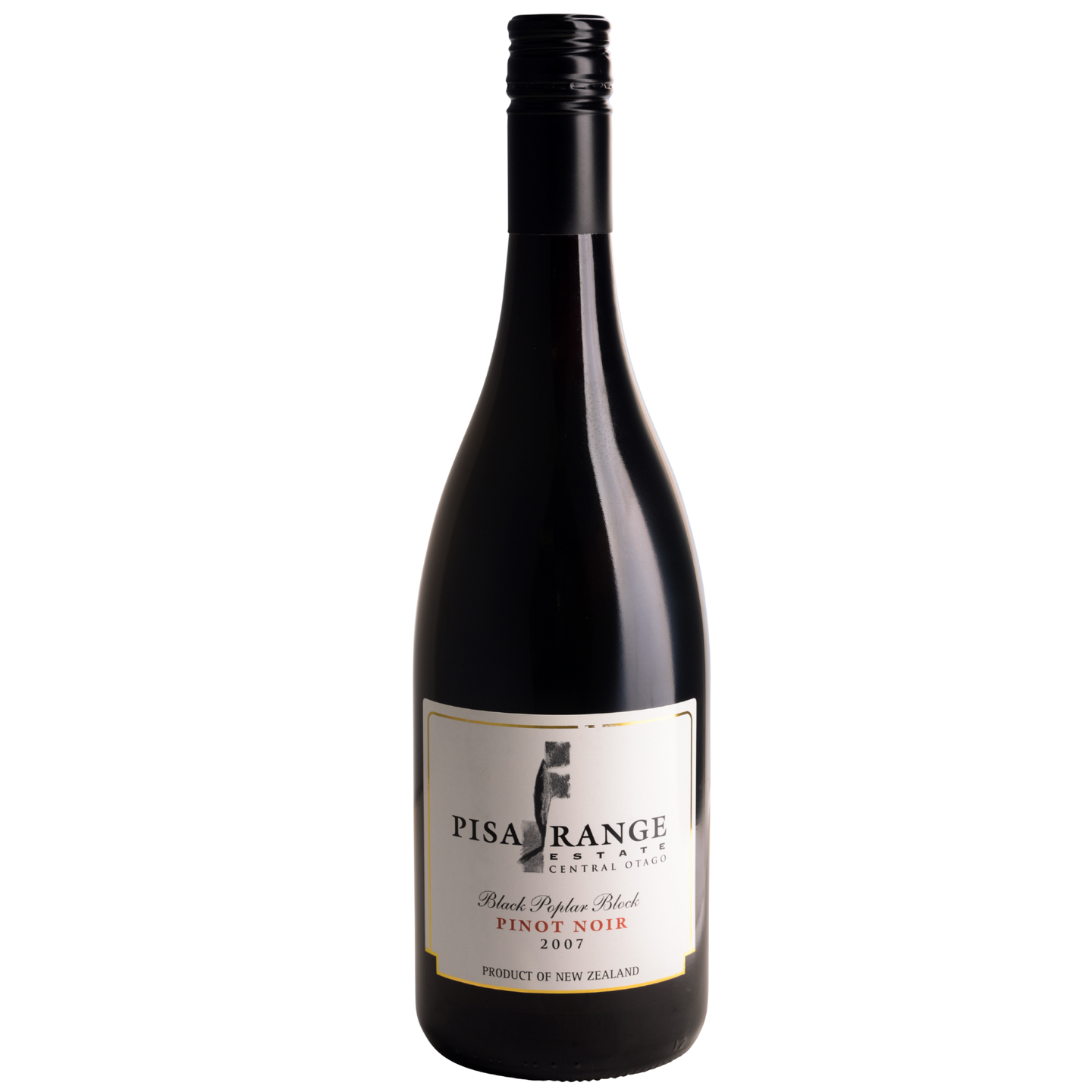 2007 Pisa Range Estate Black Poplar Block Pinot Noir