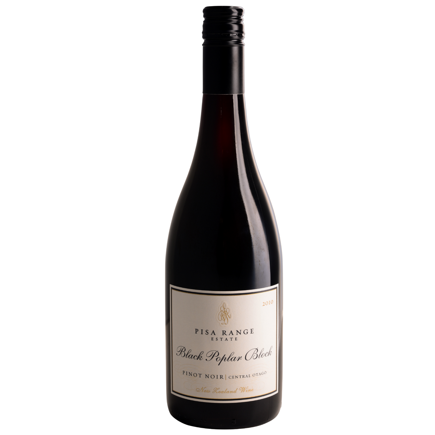 2010 Pisa Range Estate Black Poplar Block Pinot Noir