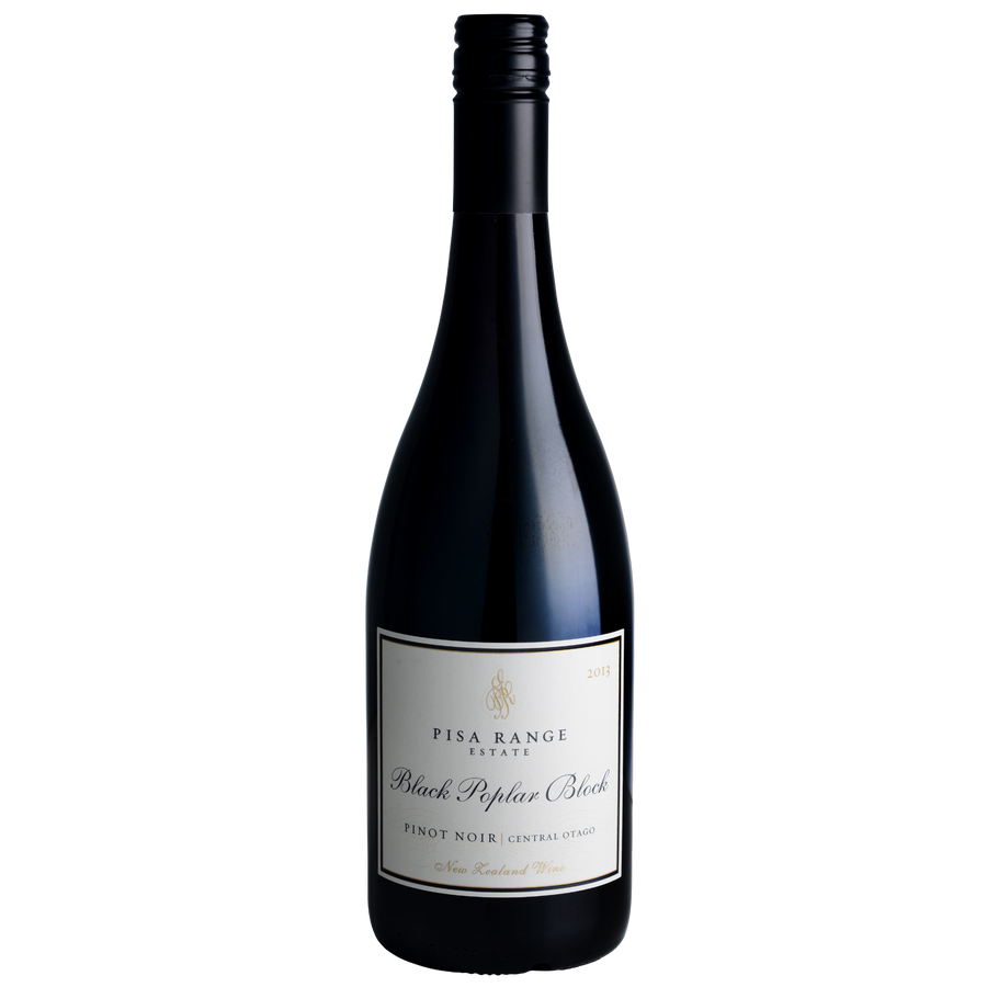 2013 Pisa Range Estate Black Poplar Block Pinot Noir