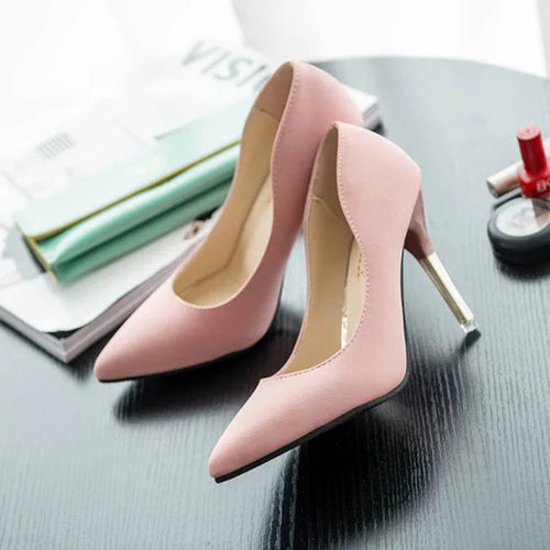 Women's Fashion Thin Heels Shoes