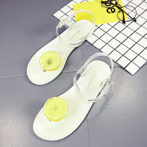 Women Fruit Flip flops Sandals