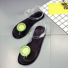 Load image into Gallery viewer, Women Fruit Flip flops Sandals