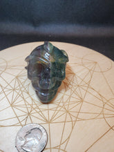 Load image into Gallery viewer, Snake Fluorite Skull