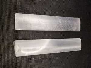 Selenite Rectangle Plate