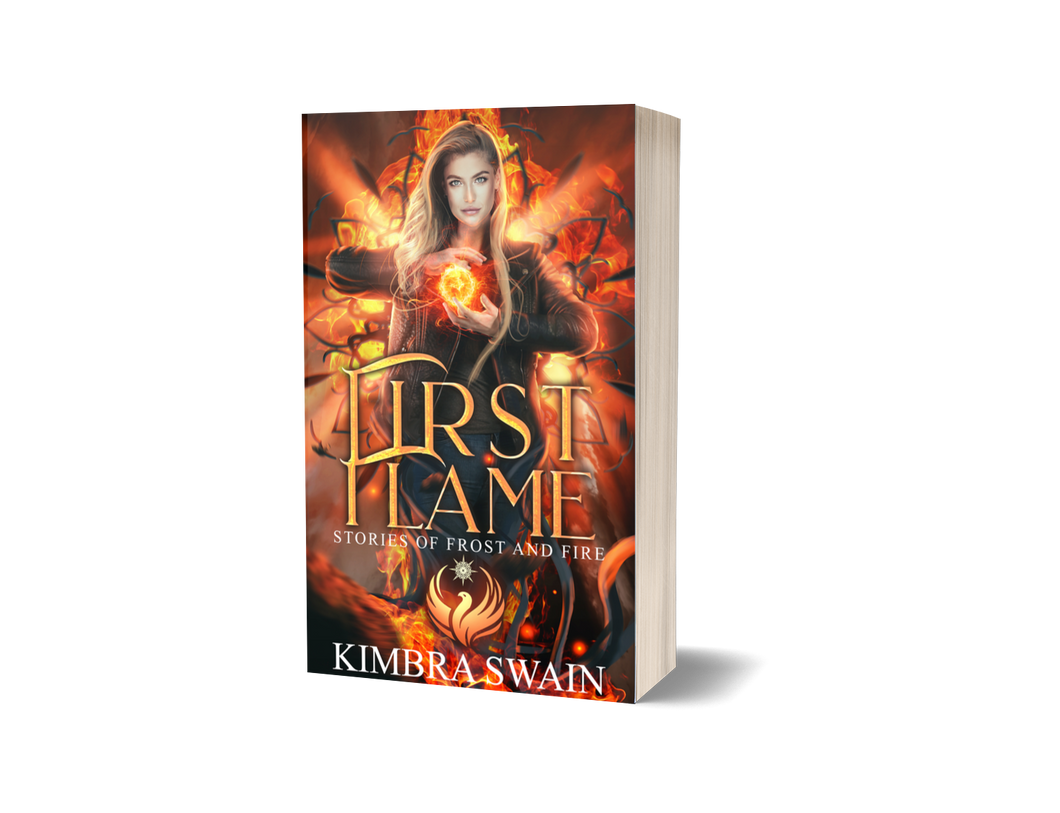 First Flame: Stories of Frost and Fire Signed Paperback