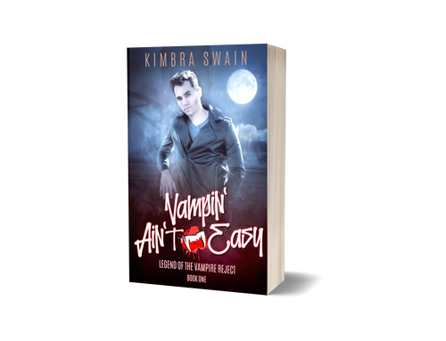 Vampin' Ain't Easy: Legend of the Vampire Reject Signed Paperback
