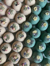 Load image into Gallery viewer, Rose Quart and Sage Ritual Bath Bomb by. Lit Rituals