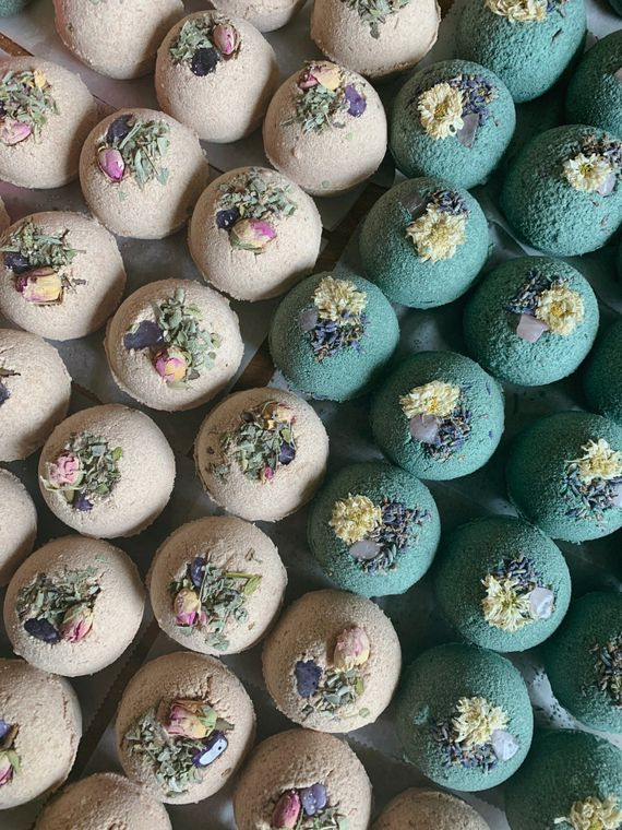 Rose Quart and Sage Ritual Bath Bomb by. Lit Rituals