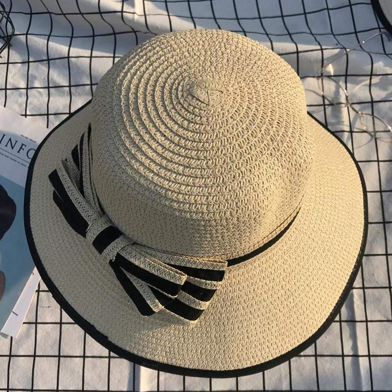 yoyoyoyoga Accessories Beige Summer Sun Hat