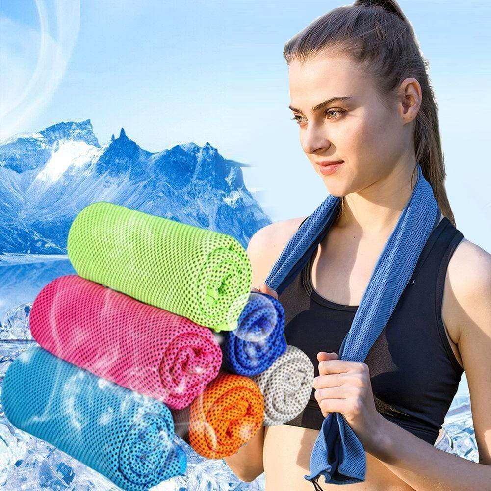 yoyoyoyoga Accessories Dark Blue / 30*100 Sports ice towel