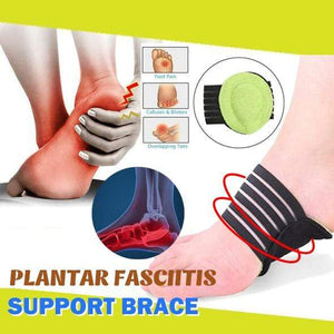yoyoyoyoga Accessories Green Plantar Fasciitis Support Brace (Pair)
