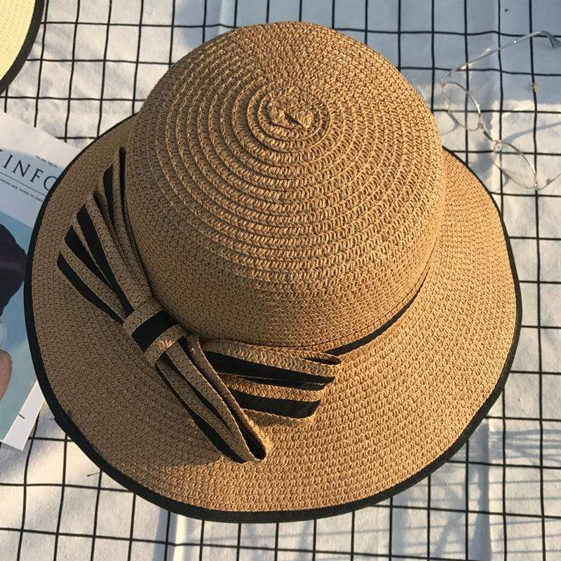 yoyoyoyoga Accessories Khaki Summer Sun Hat