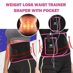 yoyoyoyoga Accessories Pink / S Slimming Waist Trainer Shaper